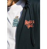 Montana CANS ZIP HOODY TAG BY SHAPIRO - Navi