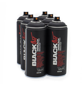 Montana BLACK 400ml Set BLACKOUT Tarblack