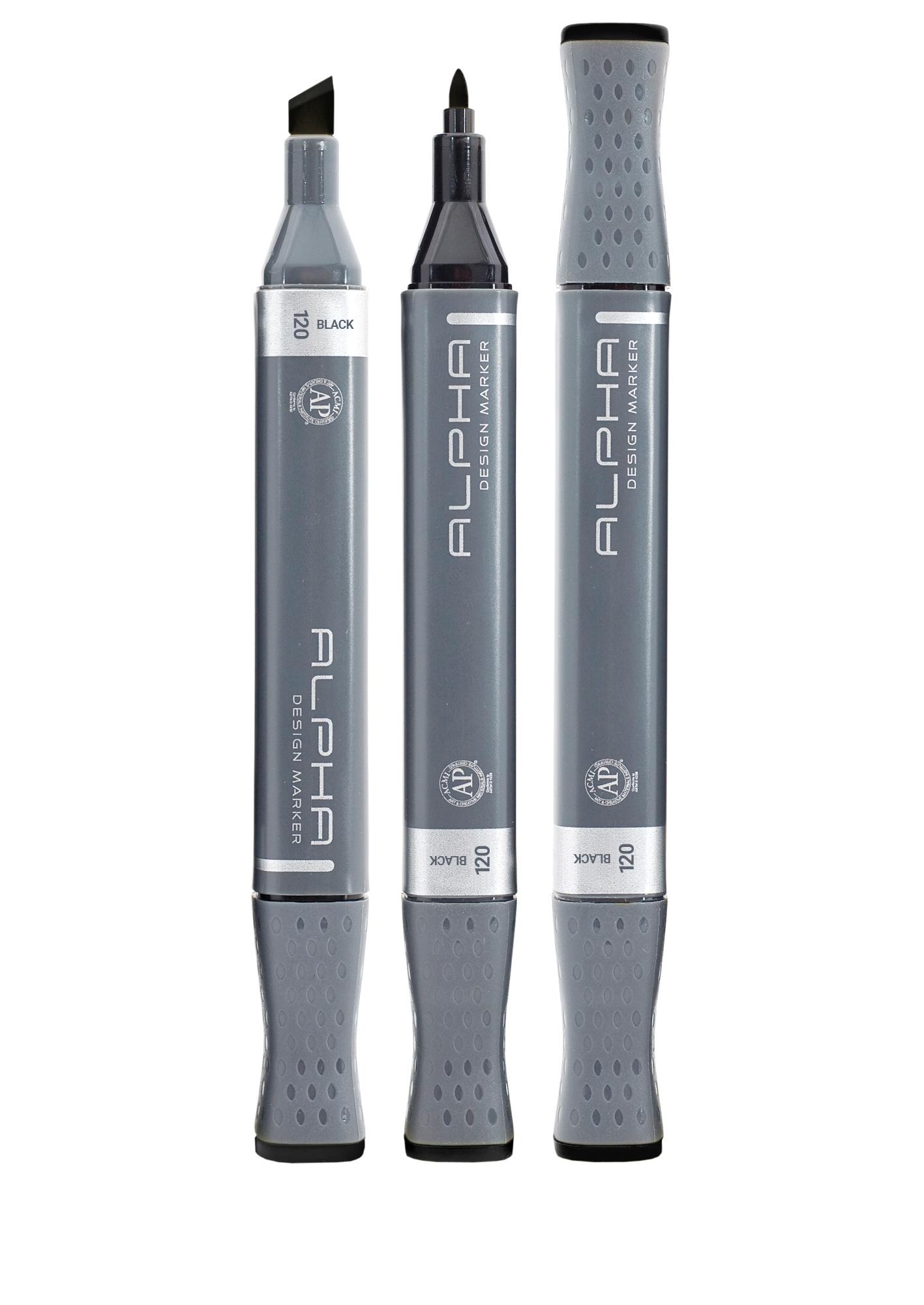 Alpha ALPHA DESIGN Marker Single - Black