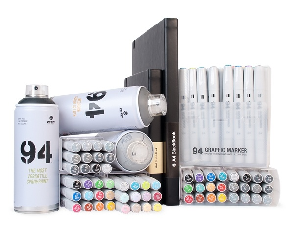 MTN Colors 94 Graphic Marker 12er Set PASTEL