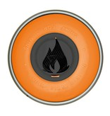 Flame ORANGE 400ml BLACK Set