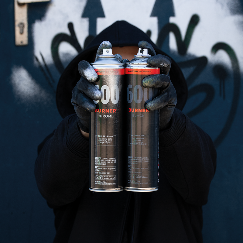 Molotow Burner Chrome 600ml Pack  1