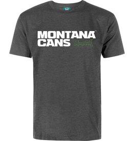 Montana LOGO T-SHIRT grau meliert