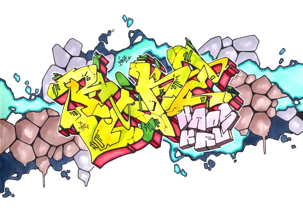 Stylefile MARKER 12er Set Multi Try Out