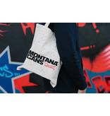 Montana Typo-Logo+Stars Cotton Bag - White