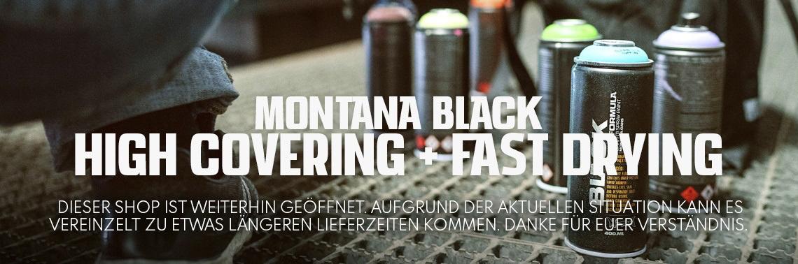Montana Black 400ml Sprühdosen