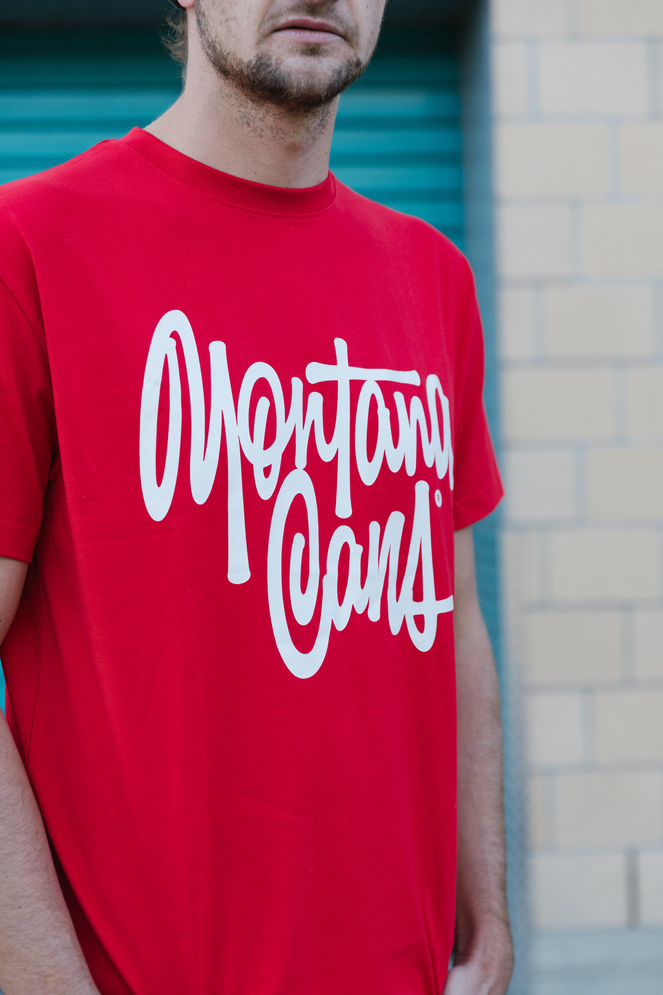 Montana T-SHIRT TAG BY SHAPIRO red