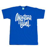 Montana T-SHIRT TAG BY SHAPIRO blue