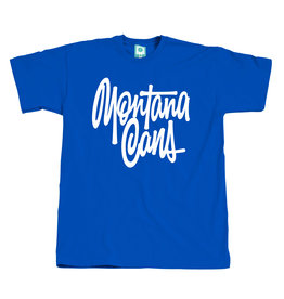 Montana T-SHIRT TAG BY SHAPIRO blue