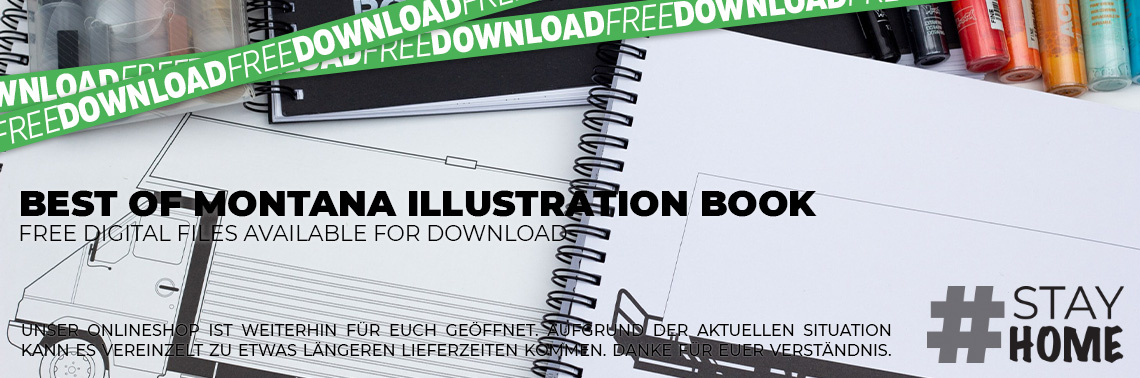 Best of Montana Illustration Book free download!