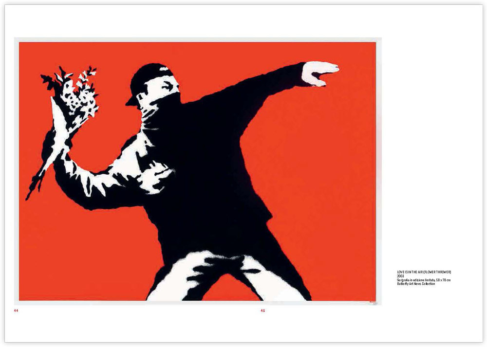 Banksy Protest Buch