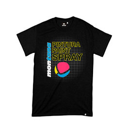 MTN Colors 25TH ANNIVERSARY HARDCORE T-SHIRT black
