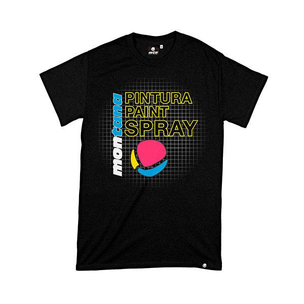 MTN Colors 25TH ANNIVERSARY HARDCORE T-SHIRT black