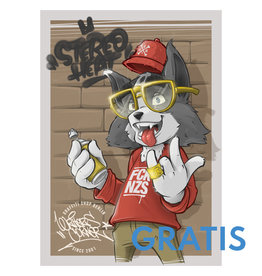 StereoHeat Sticker