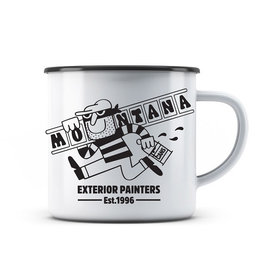 Montana Cans Emaille Tasse  – EXTERIOR PAINTERS 300ml design by 45RPM