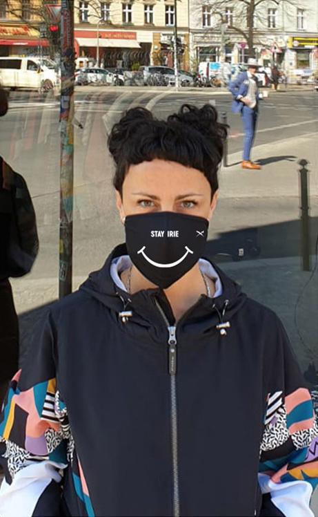 Iriedaily SMIRIE MASK black