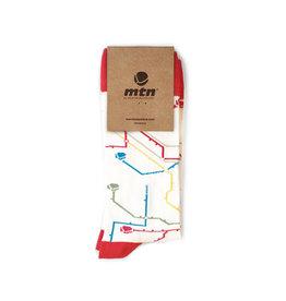 MTN Colors SOCKEN Metro Weiss  41/45