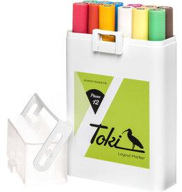 Toki Marker 12er Marker Set Main C