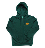 Montana CANS ZIP HOODY TAG BY SHAPIRO - Green