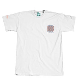 Montana CANS T-SHIRT Fresh Paint WAVES BY PREFID - White