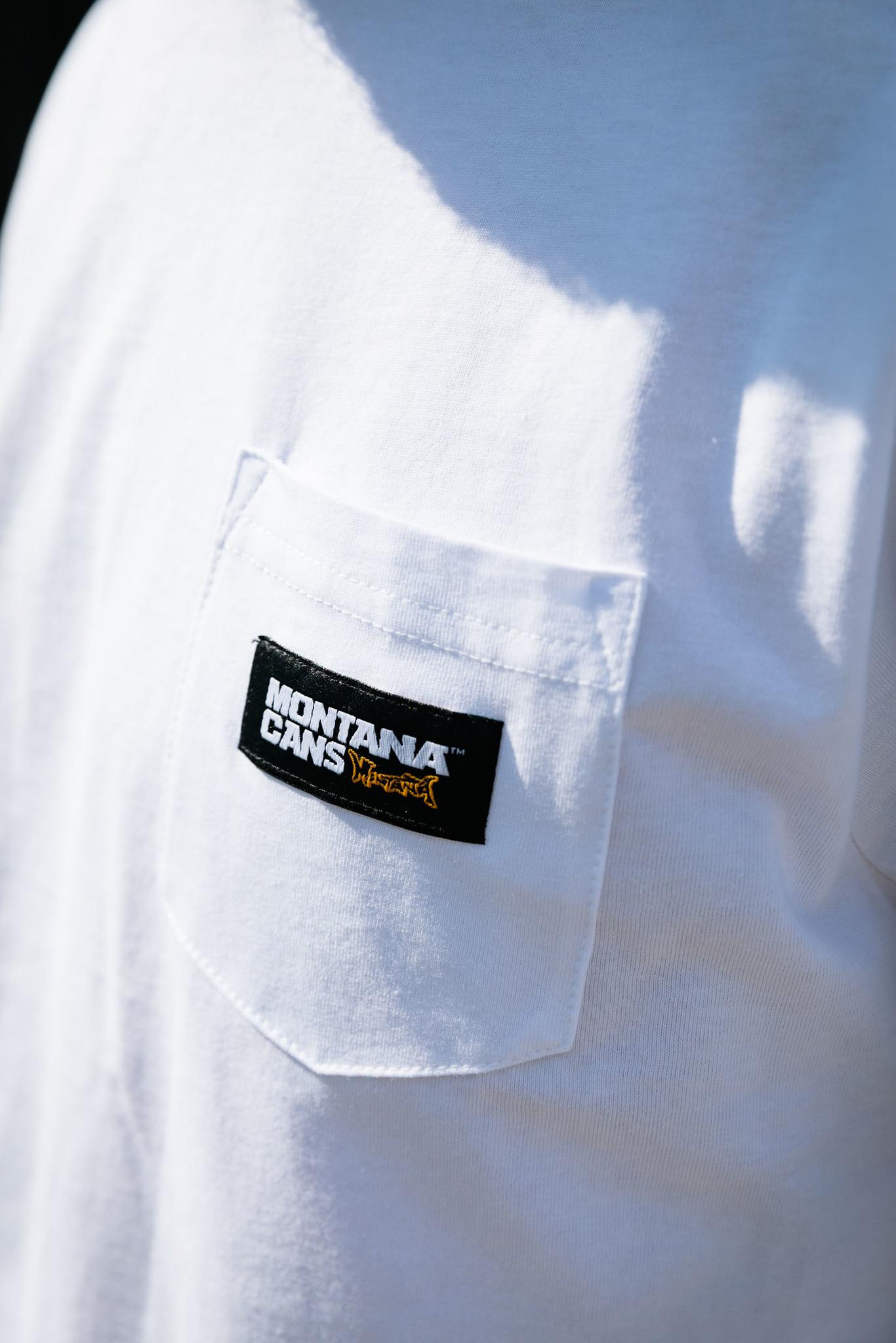 Montana Cans Longsleeve Logo Label - White