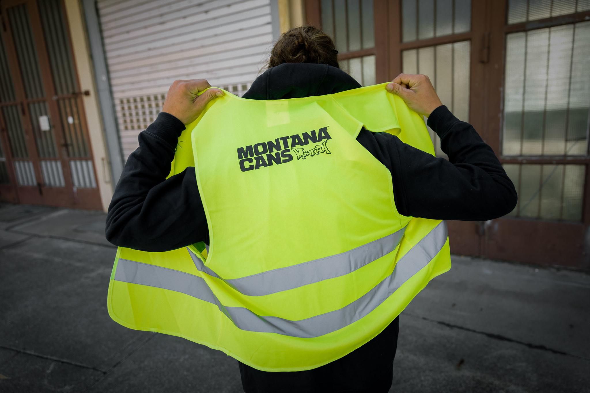 Montana REFLECTIVE VEST YELLOW