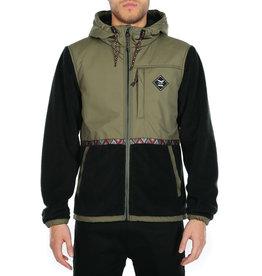 Iriedaily On Top Hood Jacket olive