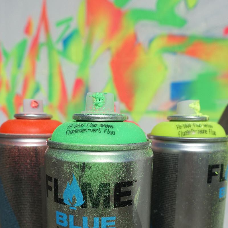 Flame BLUE Neon 400ml Sprühdose