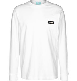 Montana Cans Longsleeve Logo Label - White