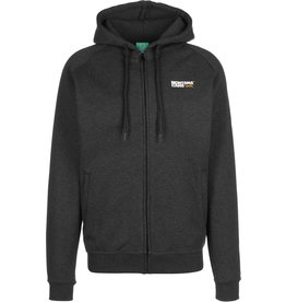 Montana Cans ZipHoody - Charcoal / White / Yellow
