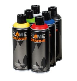 Flame ORANGE 400ml Set 1