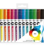 Molotow  Aqua Color Brush Marker Set Basic Set 1