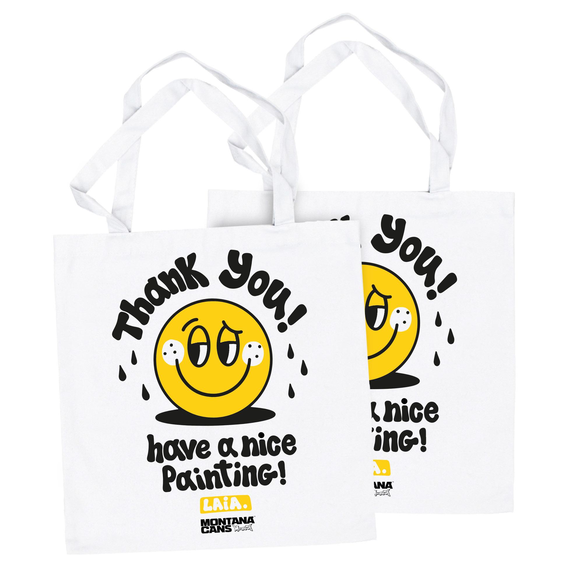 "Montana Cotton Bag - ""THANK YOU"" by Laia"