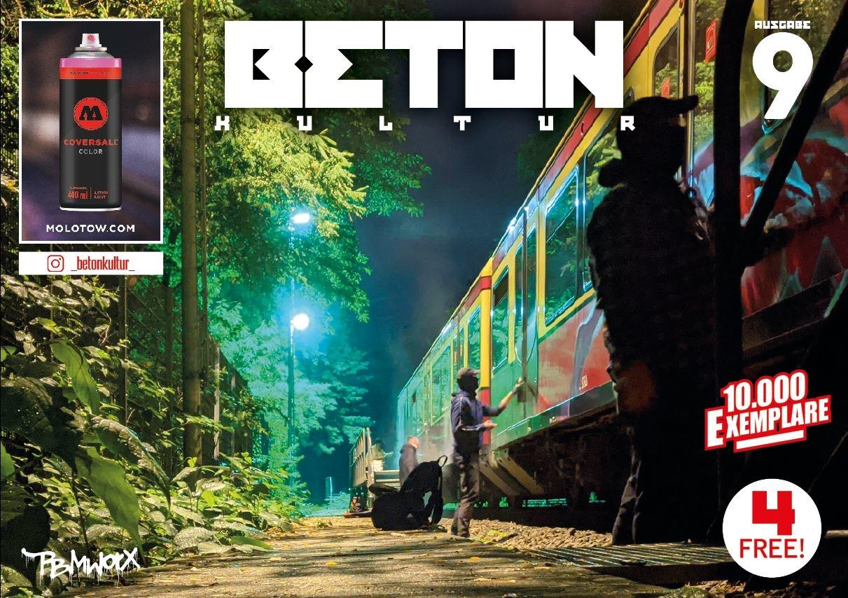 "Gratis Magazin ""Beton Kultur #9"
