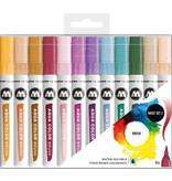 Molotow  Aqua Color Brush Marker Set Basic Set 2