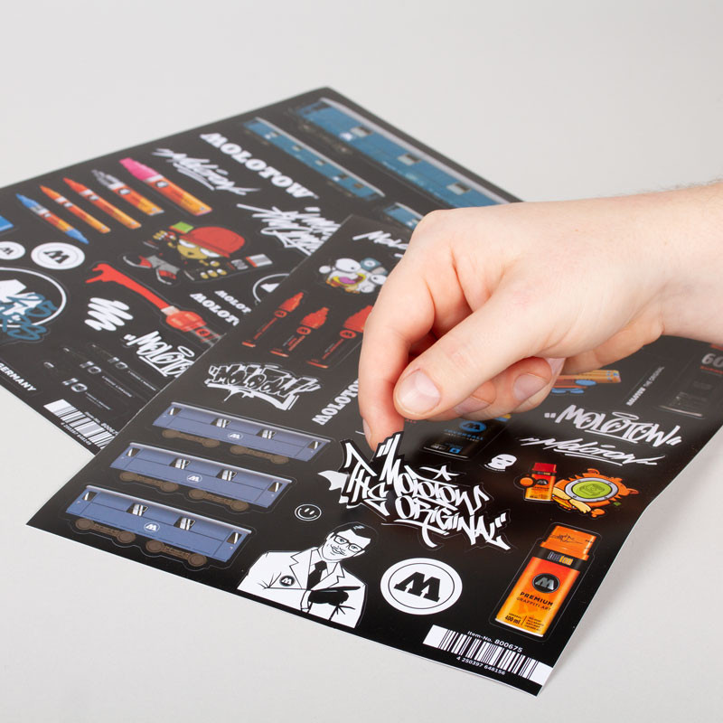 Molotow A 4 Sticker Sheets A & B