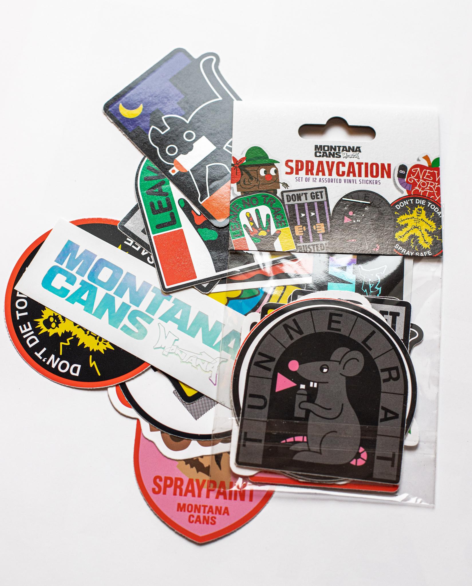 Montana Cans Sticker Set #2 - Spraycation