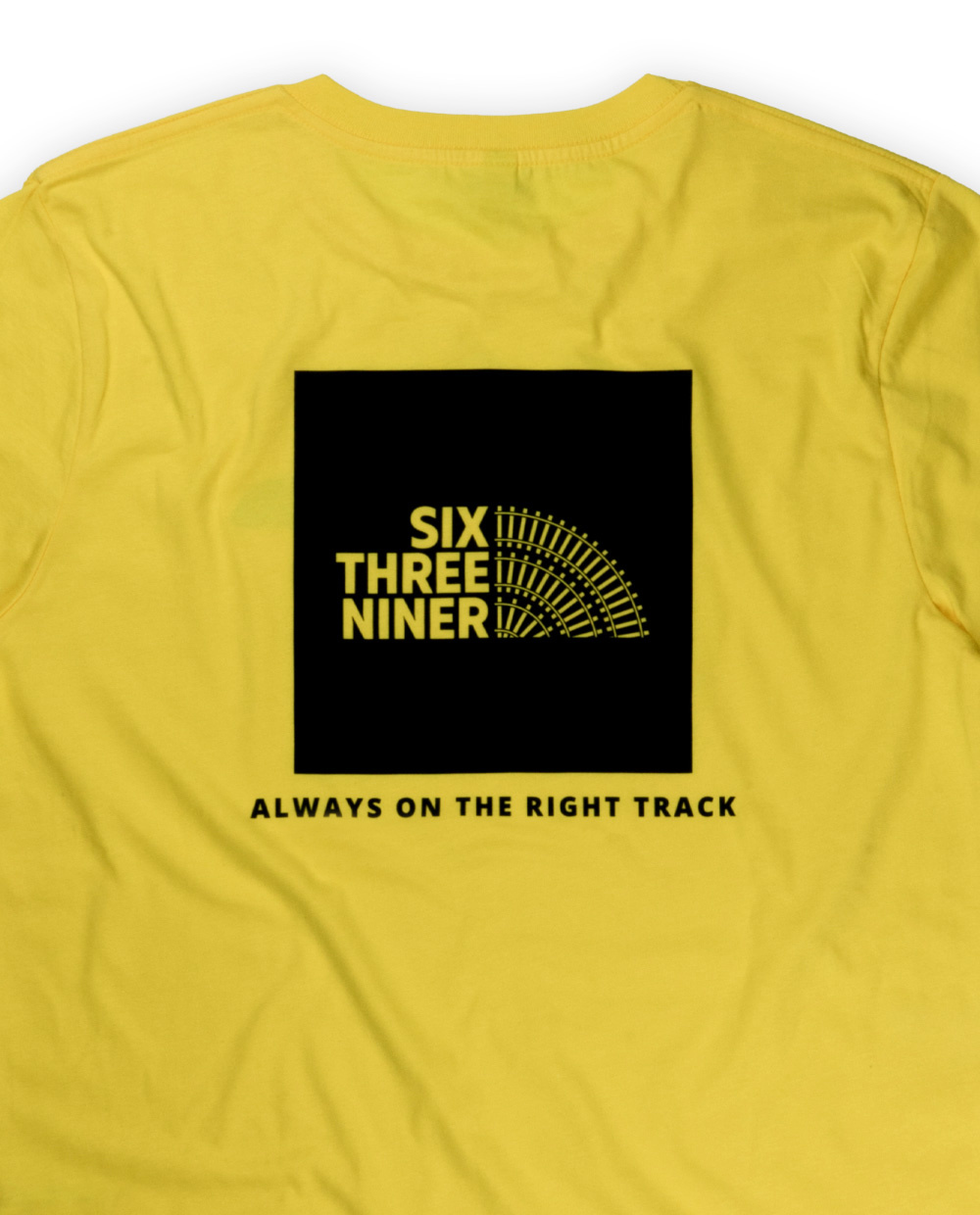 639ER RIGHT TRACK TEE yellow