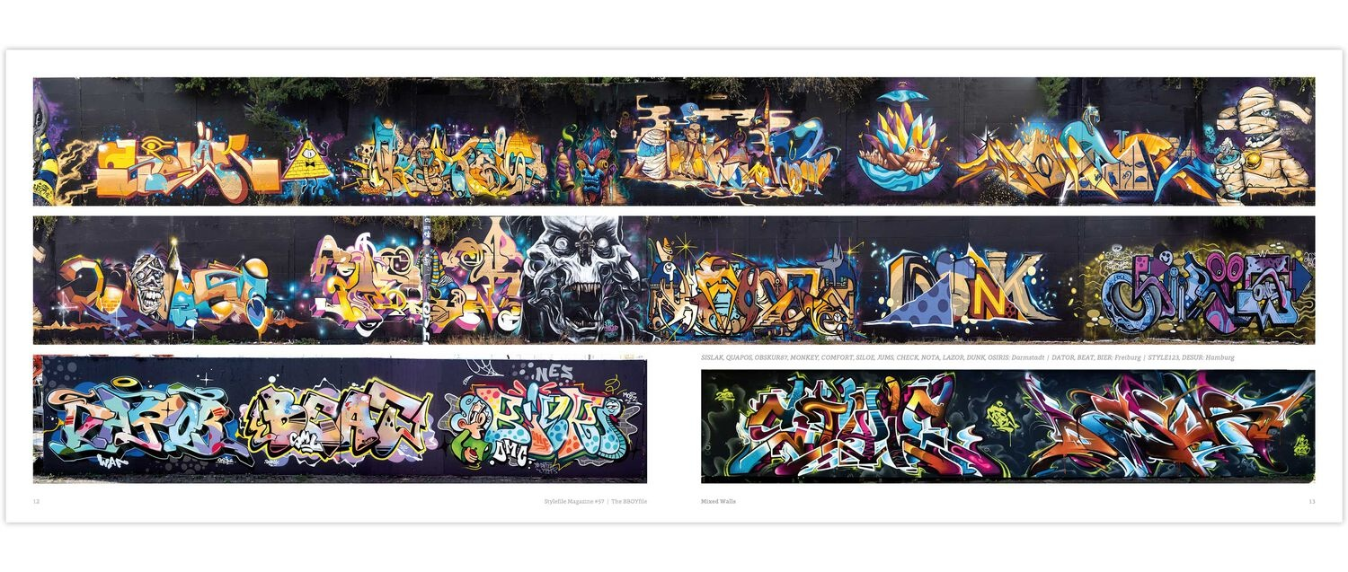 Stylefile #57 Graffiti Magazin