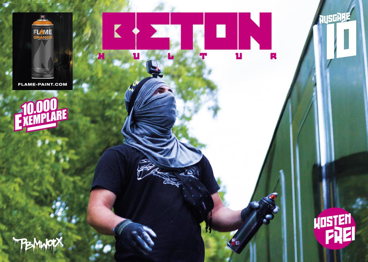 "Gratis Magazin ""Beton Kultur #10"