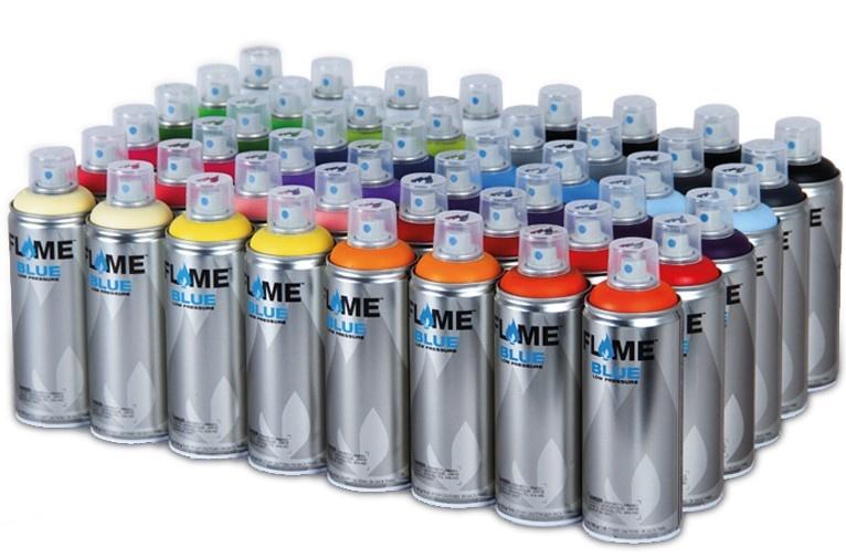 Flame BLUE 400ml 48er Set