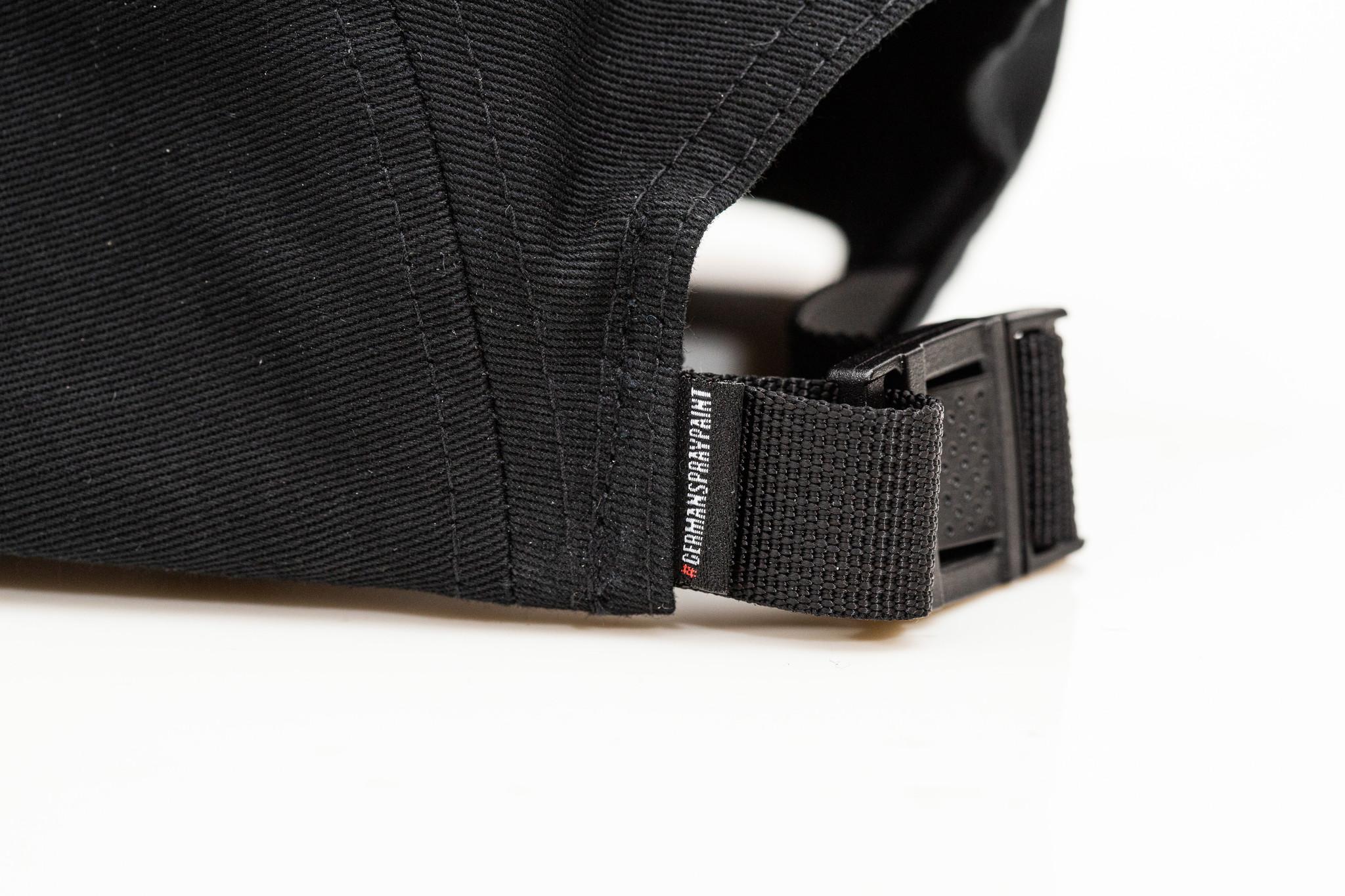 montana Cans 5-Panel Cap Typo Logo schwarz