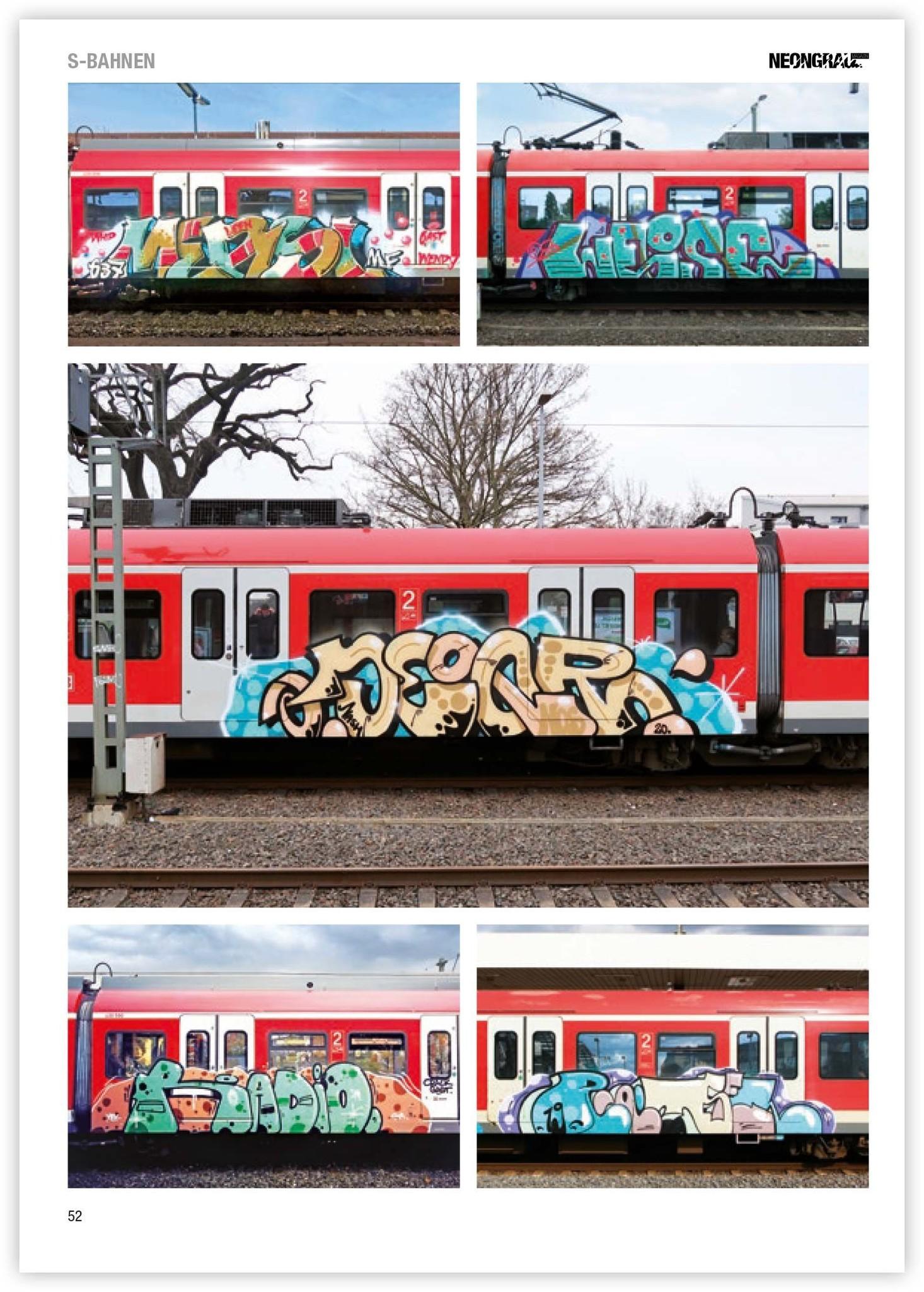 Neongrau #9 Graffiti Magazin