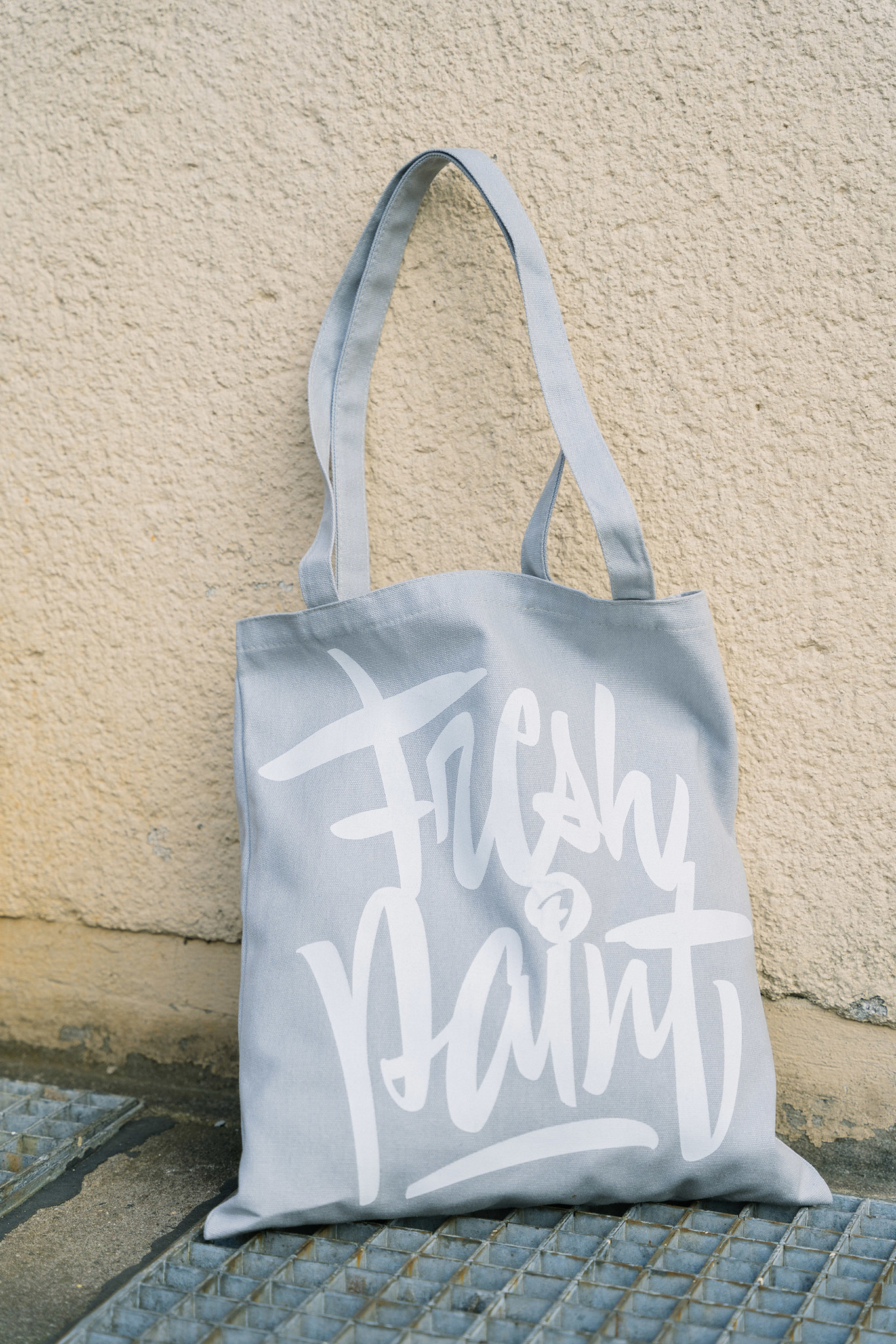 Montana Cotton Bag - FRESH PAINT by Sergey Shapiro