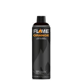 Flame Orange 500 ml Thick Black Sprühdose