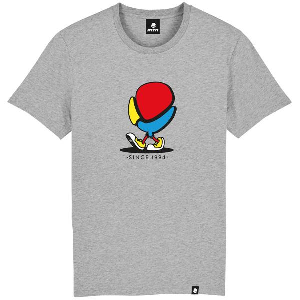 "MTN Colors T-Shirt Grey ""Walking Logo"""