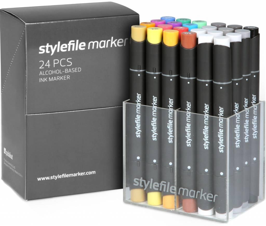 Stylefile MARKER 24er Set Main A