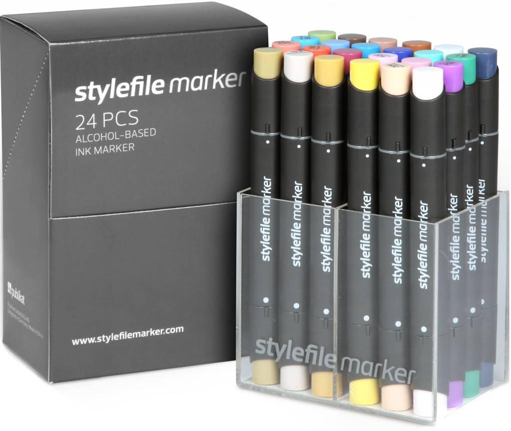 Stylefile MARKER 24er Set Main B