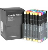 Stylefile MARKER 36er Set Main A