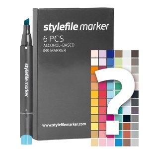 Stylefile MARKER 6er Set Tryout